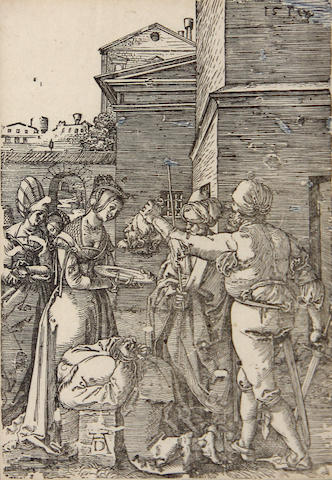 Albrecht Dürer (German, 1471-1528); The Martyrdom of St. John the Baptist; (2)