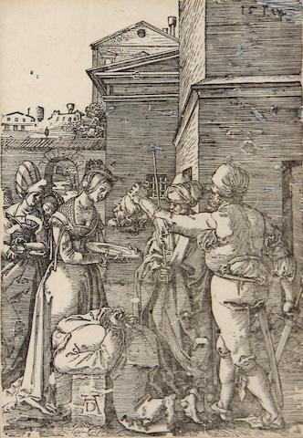 Albrecht Dürer (German, 1471-1528); The Martyrdom of St. John the Baptist; (2)