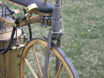 A fine full size static replica of an 1867-1869  Roper steam powered velocipede