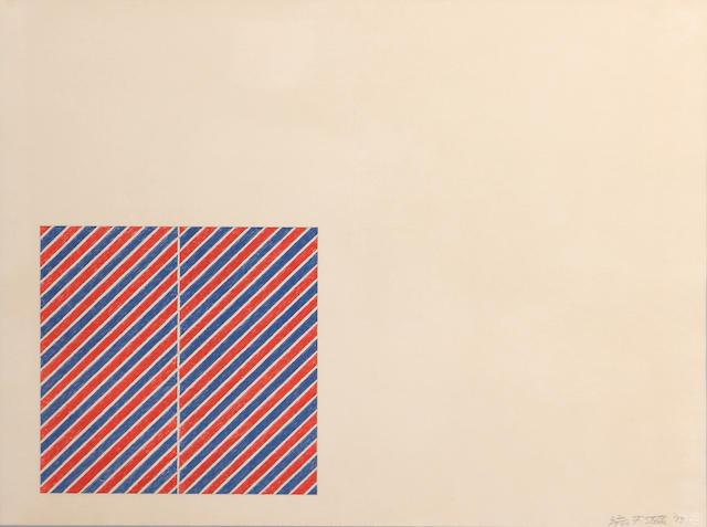 Frank Stella (American, born 1936); Tetuan III ;