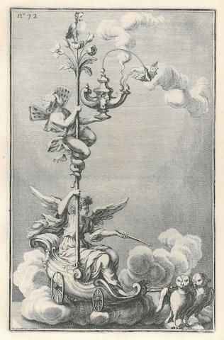 GIARDINI, GIOVANNI. 1666-1721. Promptuarium artis argentariæ. Rome: Faustus Amideus, 1759.