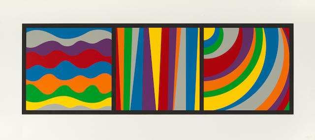 Sol LeWitt (1928-2007); Irregular Arcs, Bands and Loops;