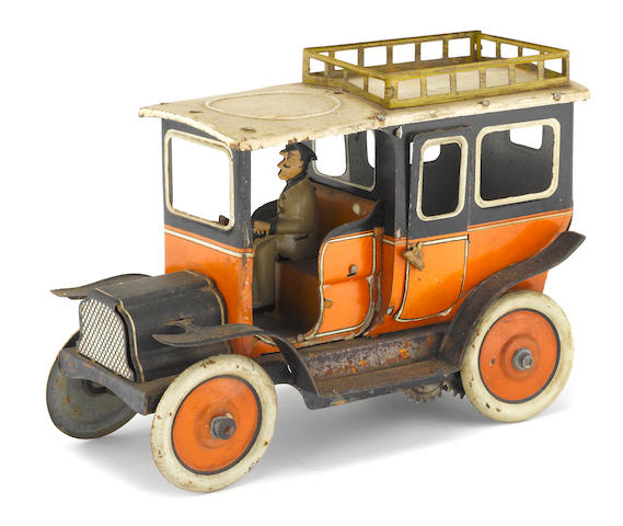 An early German Tin Car,