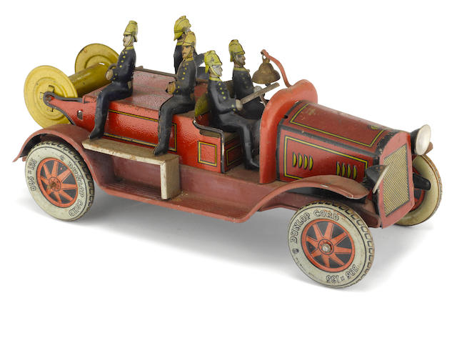 A German Lithographed Firetruck,