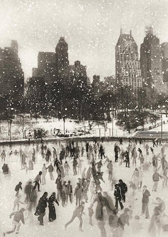 Edward Pfizenmaier (American, born 1926); Wollman Rink, Central Park, New York;