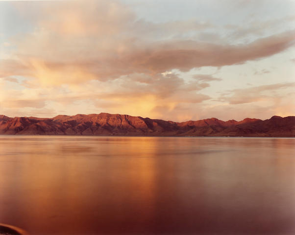 Richard Misrach (born 1949); Pyramid Lake #6;