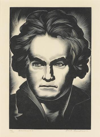 LANDACRE, PAUL. 1893-1963.   [Great Composers].