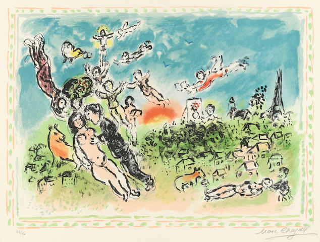 Marc Chagall (1887-1985); Summer's Dream;