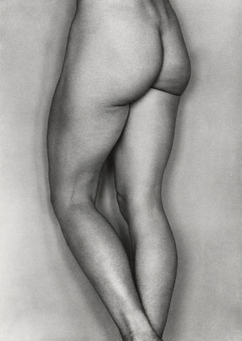 Edward Weston/Cole Weston, Nude, Gelatin silver print, Signed by Cole Weston