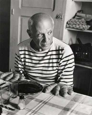 Robert Doisneau (1912-1994); Les pains de Picasso;
