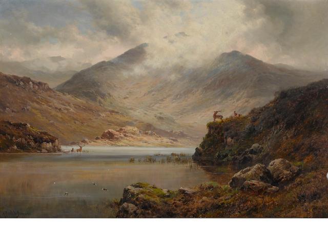Alfred DeBreanski, oil on canvas laid on board