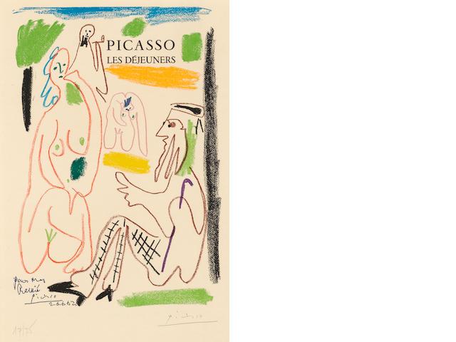 After Pablo Picasso (1881-1973); Les Déjeuners;