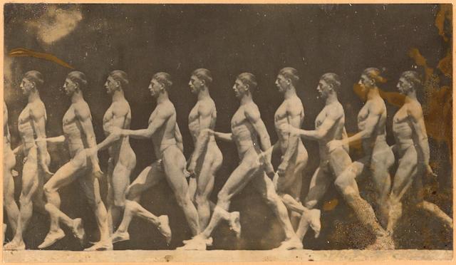 Etienne Jules Marey (1830-1904); Motion Study;