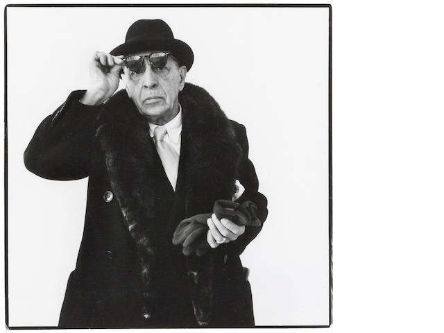 Richard Avedon (1923-2004); Igor Stravinsky, New York, January 8;