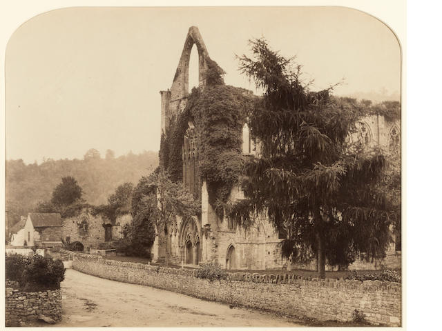 Roger Fenton (1819-1869); Tintern Abbey;