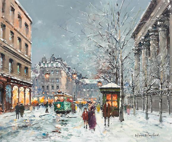 Antoine Blanchard (French, 1910-1988) La Madelaine, Paris