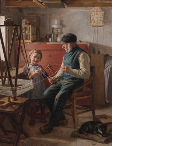 1 Ptg. by Schutt?, Helping Grandpa