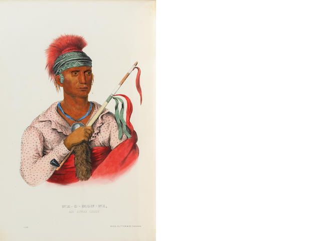 MCKENNEY, THOMAS L. 1785-1859. & JAMES HALL. 1793-1868. History of the Indian Tribes of North America. Philadelphia: Rice, Rutter & Co., 1870.