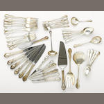 A sterling flatware set by Reed & Barton, Taunton, MA <BR />Hampton Court  (48)