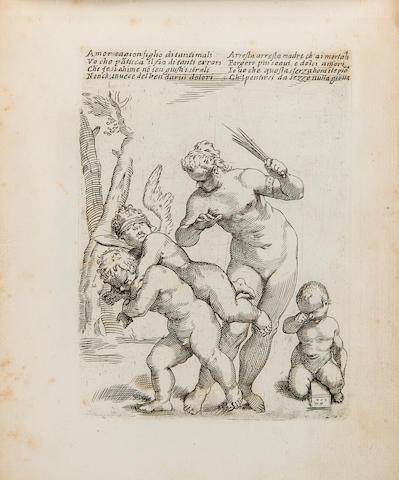 GIMIGNIANI, GIACINTO. 1606–1681. Scherzi e giuochi diversi de putti. [Rome: 1647.]