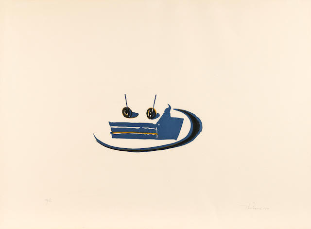 Wayne Thiebaud (born 1920); Sandwich, from Seven Still-Lifes and a Rabbit;