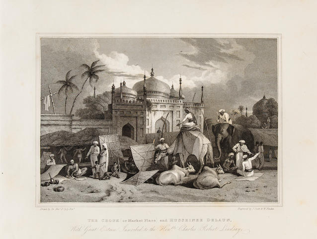 [D'OYLY, CHARLES. 1781-1845.] [Antiquities of Dacca. London: J. Landseer, c.1814-1827.]