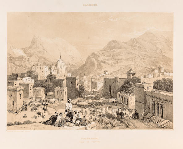 HARDINGE, CHARLES STEWART. 1822-1894. Recollections of India. London: Thomas McLean, 1847.