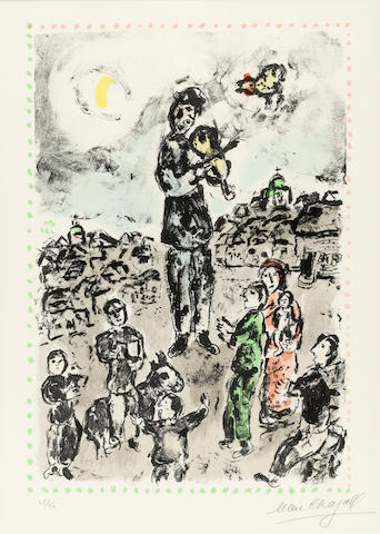 Marc Chagall (1887-1985); Concert in the Square;