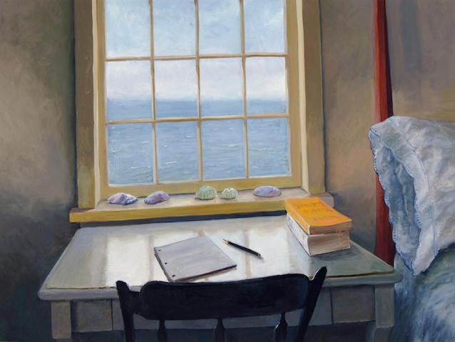 Anna Brelsford McCoy (American, born 1940) Writing Table, 2001 30 x 40in