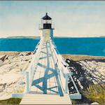 Gary Akers (American, born 1951) Marshall Point 35 x 35in
