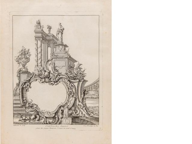 [BABEL, PIERRE EDMÉ. C.1720-1775. A collection of ornament designs. Paris: c.1760.]<BR />