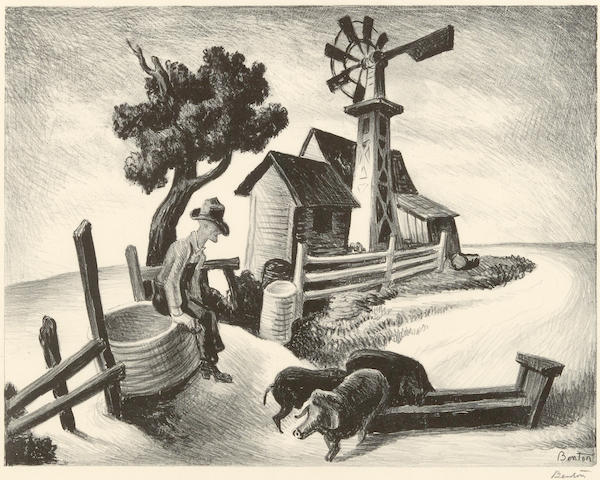 Thomas Hart Benton (1889-1975); Homestead;