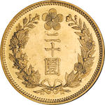 Korea, 1906 20 Won MS64 NGC