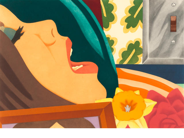 Tom Wesselmann (1931-2004); Bedroom Face;