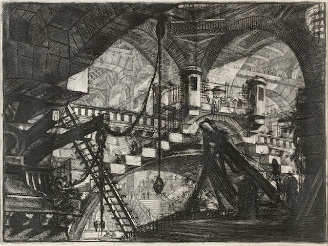 Giovanni Battista Piranesi (1720-1778); Carcari;