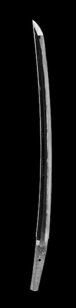 A Mino daisho in mounts The wakizashi attributed to Kaneharu, Muromachi (16th century)