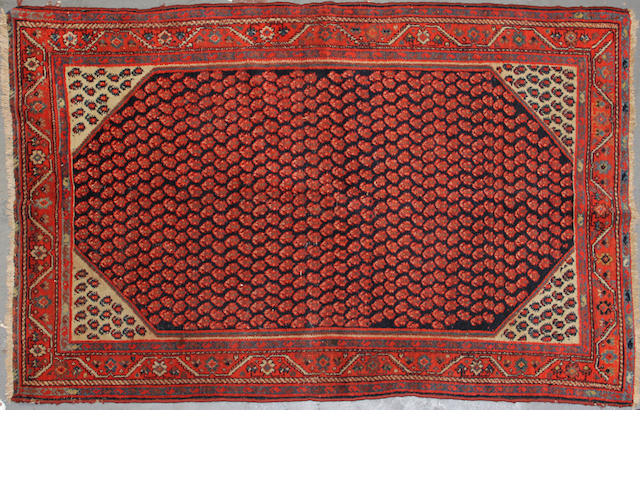 A Malayer rug size approximately 4ft. 2in. x 6ft. 6in.