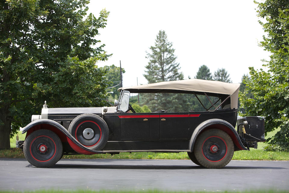 Single family ownership since 1975,1928 Packard Series 4-43 7-Passenger Custom Eight Touring  Chassis no. 230946 Engine no. 230981A