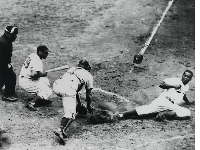 Nat Fein, Jackie Robinson Steals Home