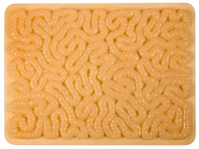 Mona Hatoum Untitled (Intestines), 1996, rubber mat