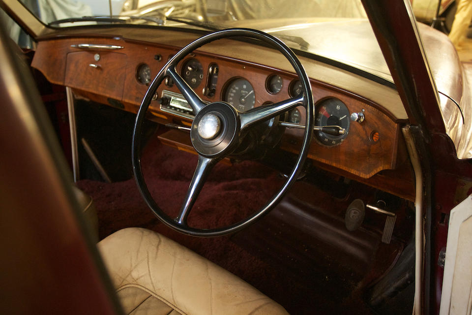 Purchased new by John Adam Day, Esq.—the High Sheriff of Devon, long-term East Coast ownership,1962 Bentley S2 Continental 'Flying Spur' Saloon   Chassis no. BC91CZ Engine no. C90BC