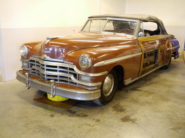 1949 Chrysler Town & Country Convertible   Chassis no. 7410960