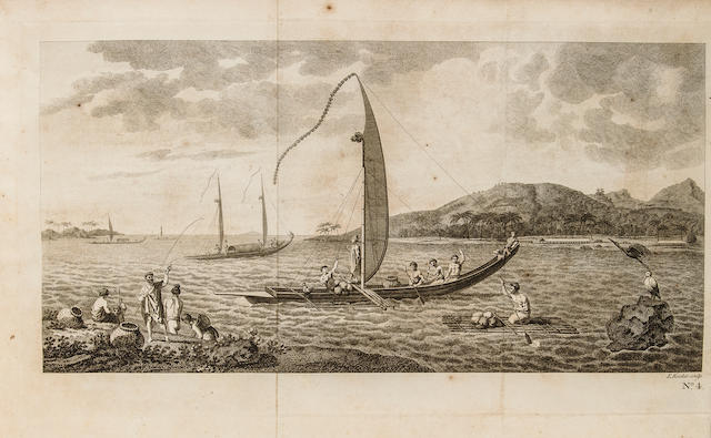 [COOK, JAMES. 1728-1779.] HAWKESWORTH, JOHN. An Account of the Voyages ... for Making Discoveries in the Southern Hemisphere. London: W. Strahan and T. Cadell, 1773.