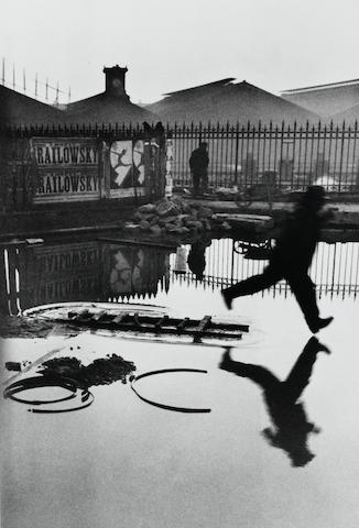 Henri Cartier-Bresson (1908-2004); Behind the Gare Saint-Lazare, Paris;