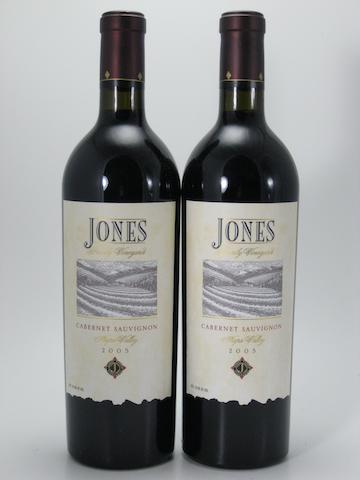 Jones Family Cabernet Sauvignon 2005 (10)