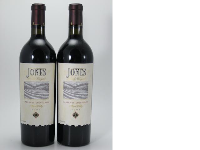 Jones Family Cabernet Sauvignon 2005 (10)