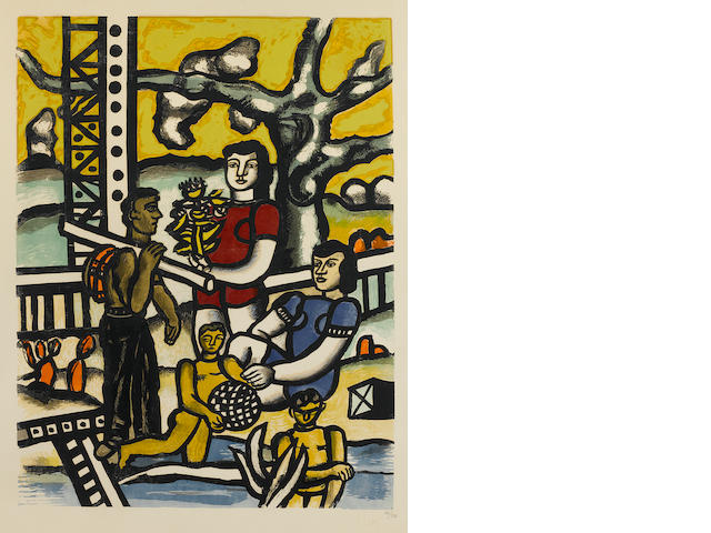 After Fernand Léger (1881-1955); Le Campeur;