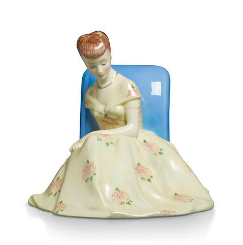 A Lenci glazed porcelain figure circa 1930