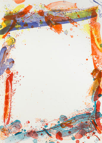 Sam  Francis (1923-1994); Veiled Sail;