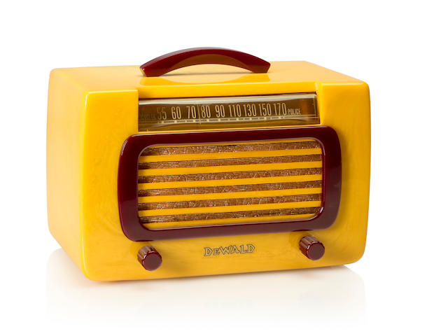 A Dewald 561 Jewel, yellow and maroon<BR />1939